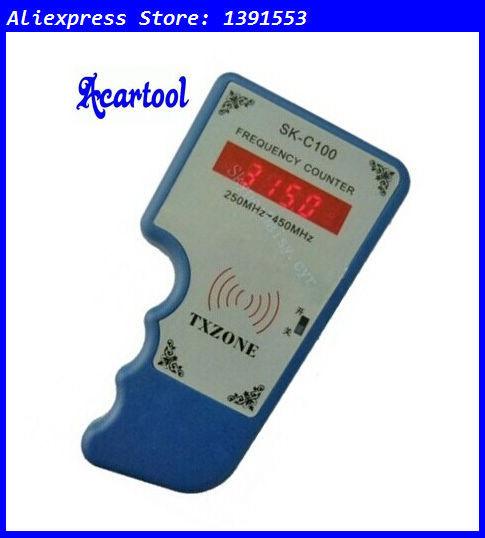 Acartool sans fil sk - c100 compteur de fréquence 250 - 450 Mhz télécommande fréquence fréquencemètre testeur de détecteur infrarouge(China (Mainland))
