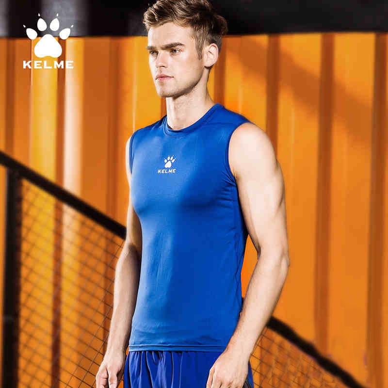 Breathable Sleeveless Soccer Jerseys 2016 2017 Football Training Vest With Quick Dry KELME K15Z730(China (Mainland))
