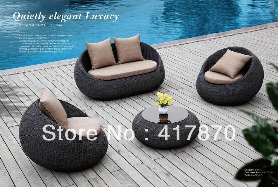 mobiliario jardim area:Round Rattan Outdoor Furniture
