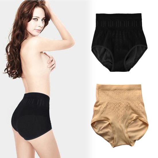 Гаджет  Free Shipping New Women High Waist Brief Girdle Body Shaper Underwear Pure Cutton Slim Tummy Knickers Pants Underwear None Одежда и аксессуары