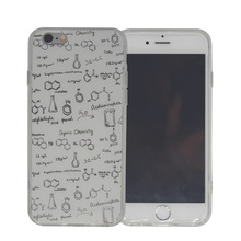 Funny Chemistry Printed Silicone + Plastic Phone Back Cover Case For iPhone 6 6S 6 Plus 6S Plus Protective Shell Accessories