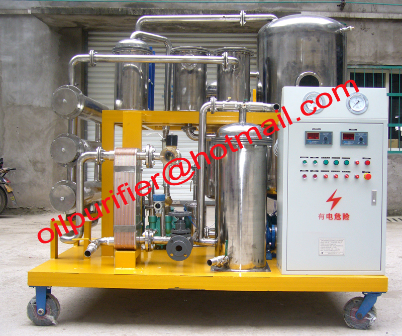 Vacuum Hydraulic oil Recycling Plant, Hydraulic oil purification machine,Used Oil Cleaning water fluids(China (Mainland))