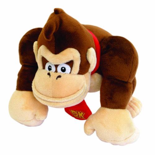 Super Mario Bros. 8.5in/20cm Donkey Kong Plush Toy Monkey Nintendo Stuffed Doll(China (Mainland))