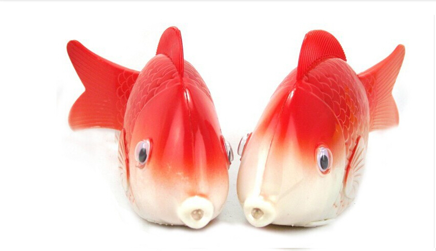 1pcs New Novel Robofish Electric Toy Robo Fish,Emulational Toy Robot Fish,Electronic pets Creative Baby toys(No batteries)(China (Mainland))
