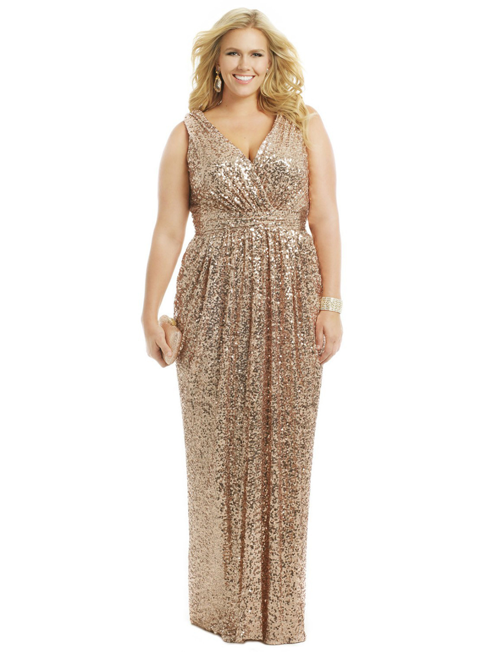 Sequin Gold Dress Photo Album - Vicing