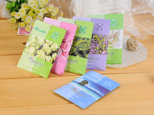 Natural chest wardrobe mouldproof moth-proofing dehumidification air purification sachet for car home Lavender jasmine lily rose(China (Mainland))