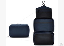 New arrival women men cosmetic wash big toiletry storage bags travel hanging bag large capacity make up organizer