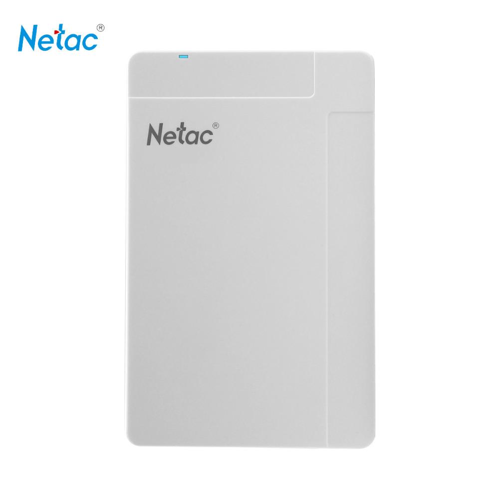 Netac K218 500GB USB 3.0 External Hard Drive White Externo Disco HD HDD Disk Storage Devices(China (Mainland))