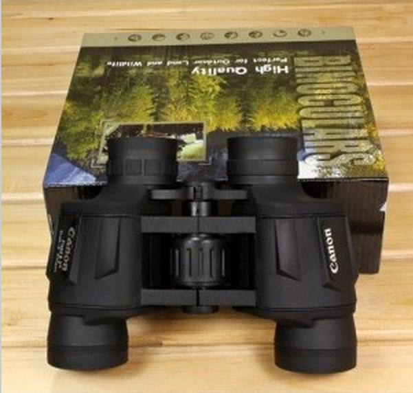 Free Shipping Canon 8x40 Bak4 lens optical binoculars telescope HD professional 100% Canon powerview porro prism 8x40 binoculars(China (Mainland))