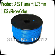 ABS Filament 1 75mm Use For 3D Printer Pen Parts For 3D Printer Kit 3d Printer