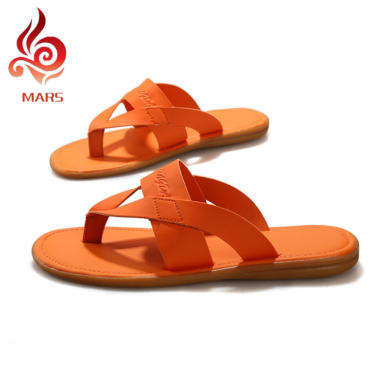 2015 Fashion Men Flip Flops Casual Summer Style Sandals Leisure Flat Beach Slippers Size:39-44 JLD10 - Mars House store