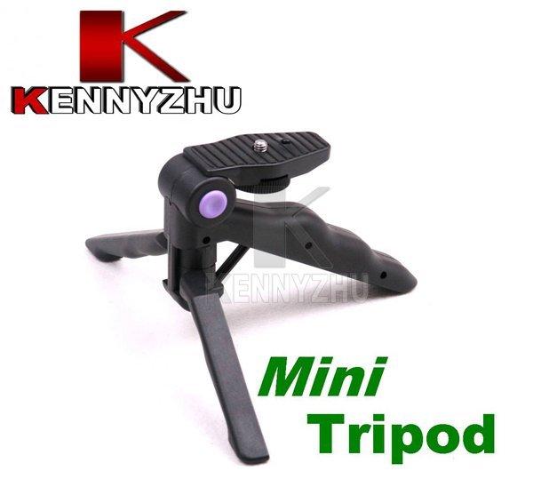 10pcs/lot Mini Travel Handheld Flexible Table Tripod Stand For Digital Camera DV Phone  Adjustable To A Convenient Handle
