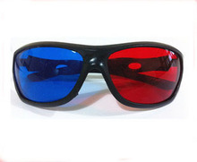 Red&Blue 3D stereo glasses, Ideal for use to view 3D pictures, magazines, TV and much more.(China (Mainland))