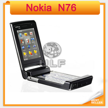 Holiday Sale Nokia N76 Original Mobile Phone Support  English Russian Keyboard