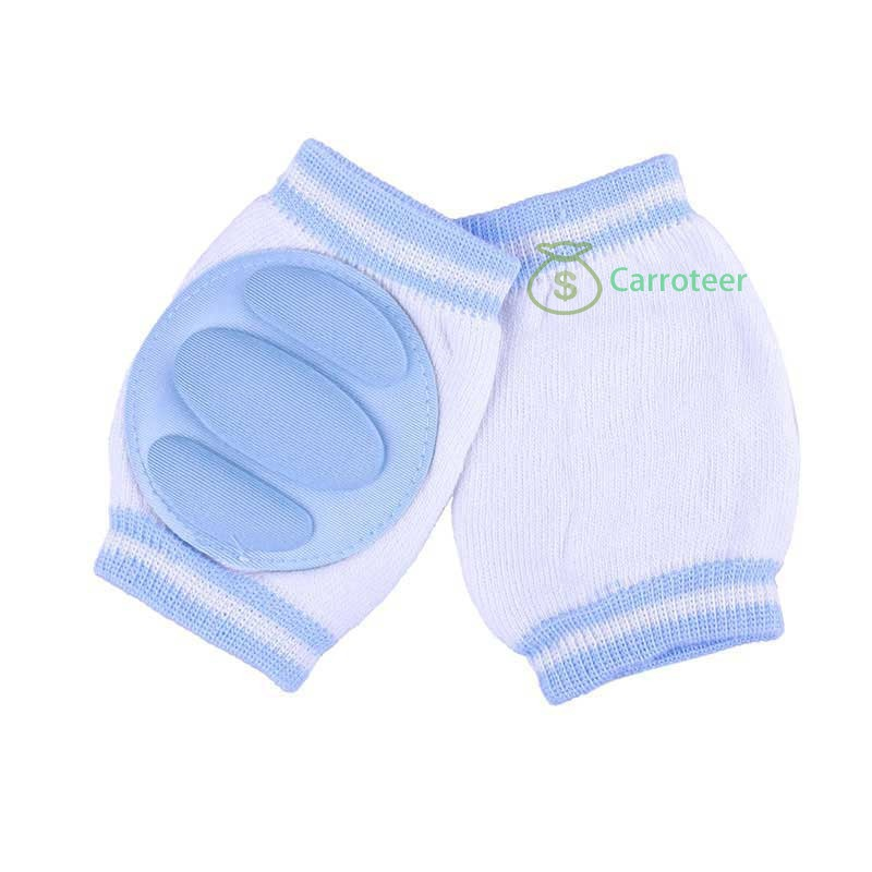 Carroteer Shop 1 Pair Comfortable Baby Kids Toddler Crawling Safety Protector Knee Caps Pads(China (Mainland))