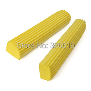 Free shipping Pva mop head folded absorbent water sponge mop head mounted replace high quality mop head(China (Mainland))
