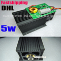 DIY Focusable 445nm 5W 5000mW Blue Laser Module High power For CNC Cutter Engraver Engraving Machine