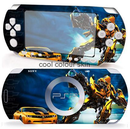 TRANSFORMERS 049 Vinyl Skin Sticker Protector for Sony PSP 2000 skins Stickers for PSP2000(China (Mainland))