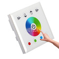 RGB LED Controller Full Color Touch Panel Wall Mounted Dimmer DC12 24V 4channel For LED Strip