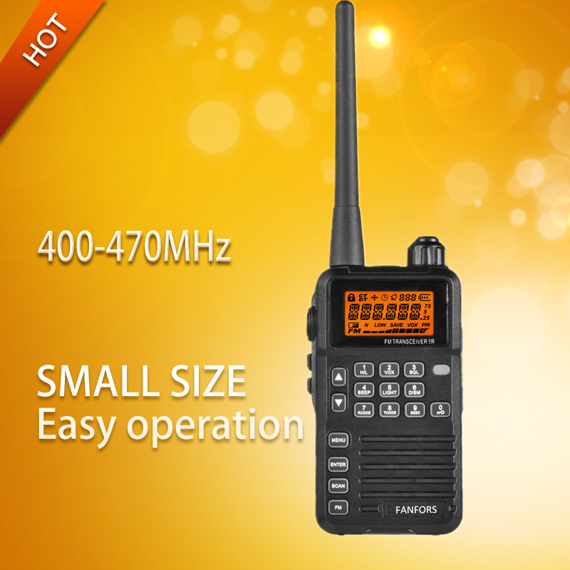 Free shipping Mini walkie talkie support FRS PMR GMRS with LCD display and FM Radio function(China (Mainland))