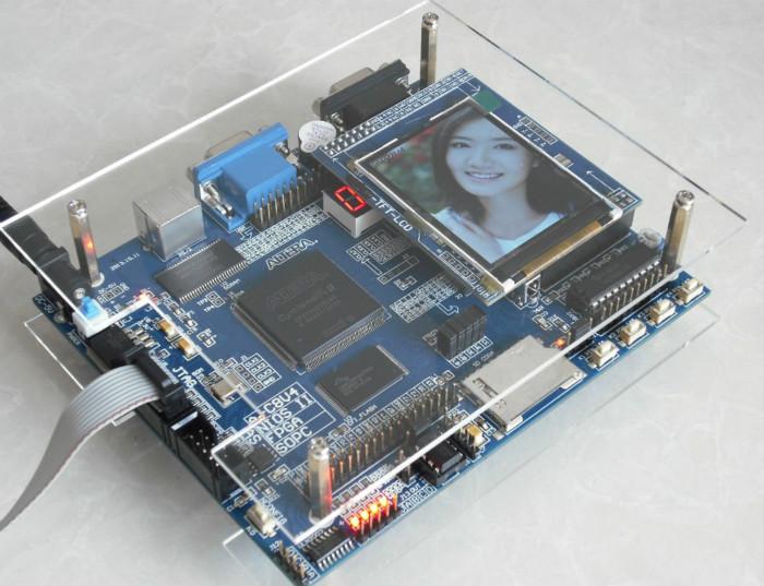USB Blaster+TFT LCD 2.4+USB-TTL+ ALTERA FPGA EP2C8Q208C8N fpga board fpga development board fpga altera board(China (Mainland))