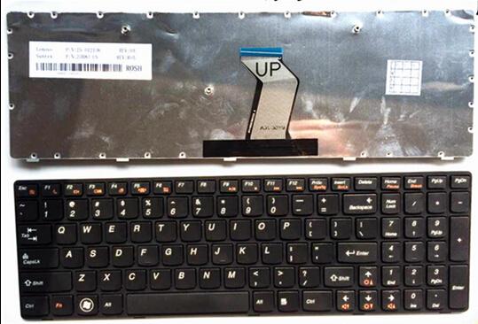 100% New Keyboard FOR LENOVO G500 G510 G505 G700 G710 US laptop keyboard Free shipping(China (Mainland))