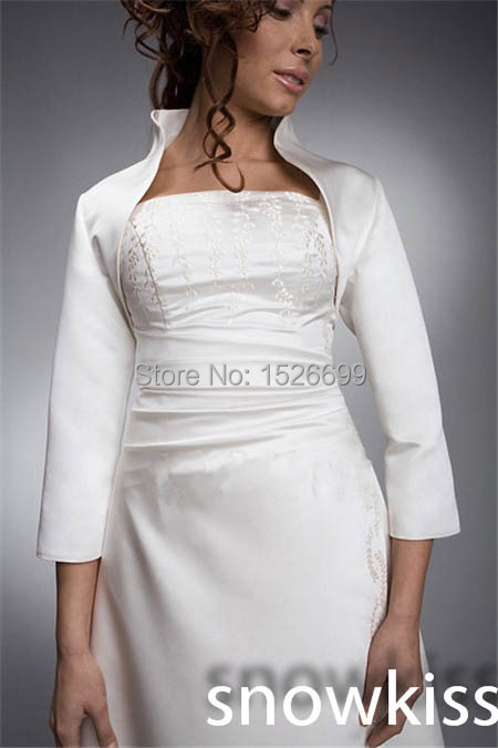 wedding dress stand up collar