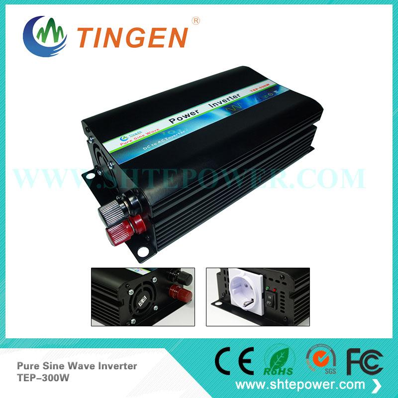 300W 24V DC to 120V AC Pure Sine Wave Inverter, Off Grid Hybrid Solar Inverter(China (Mainland))
