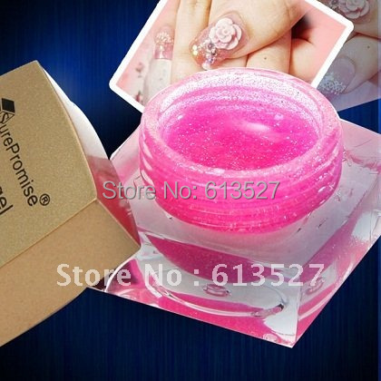 24 COLORS GLITTER Nail UV GEL