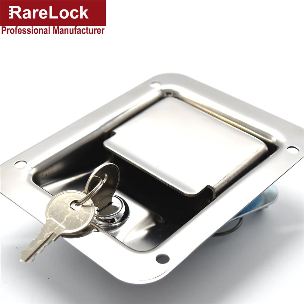 Rarelock New Design Professional Stainless Steel Hardware Bus,Truck Car Door Lock Cerradura(China (Mainland))