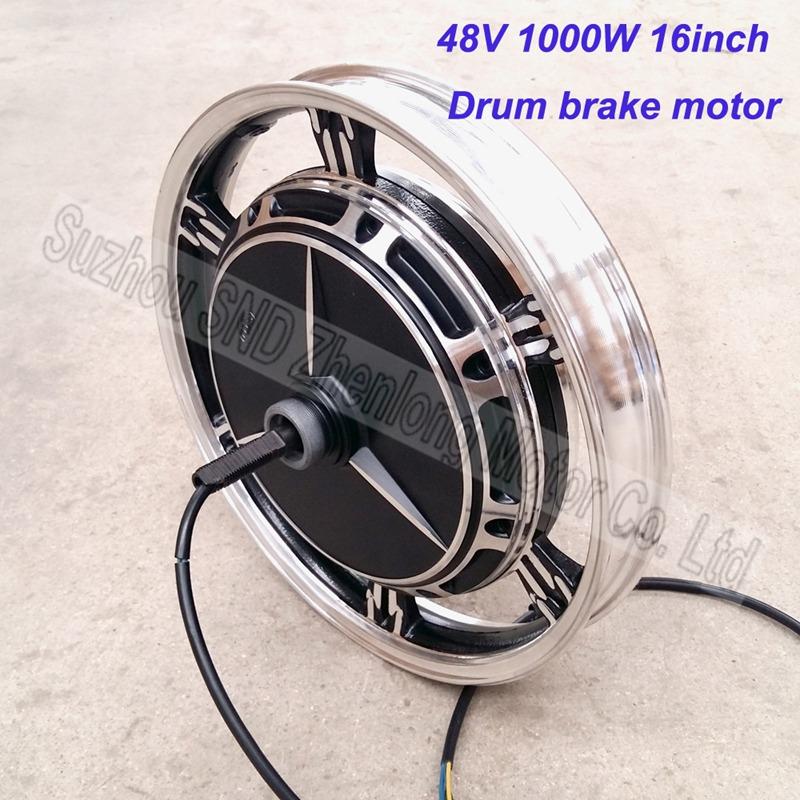 ZL MOTOR electric bike hub motor 16inch 48V60V72V 1000W / speed and torque make to order G-M068(China (Mainland))