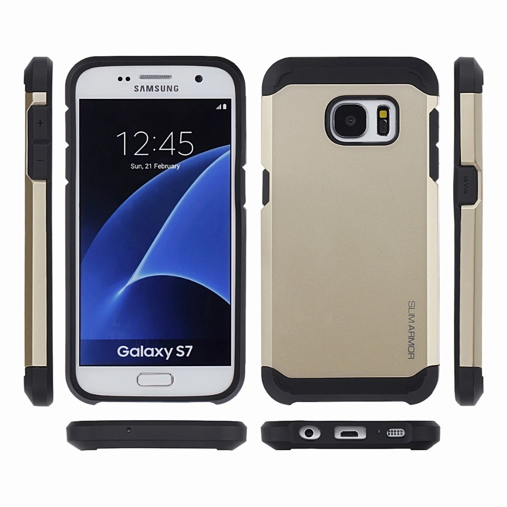 Hot Tough Armor Case For Samsung Galaxy S7 G9300 Dual Layer Hybrid Back Accessories Cover For S7(China (Mainland))
