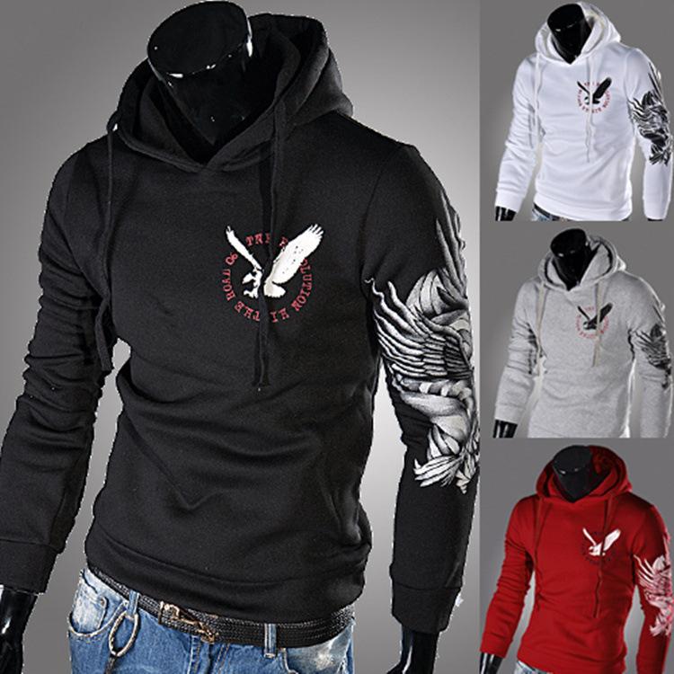 Winter Autumn Men s Fashion Brand Hoodies Sweatshirts Casual Sports Male Hooded Jackets Boys Sports Suit