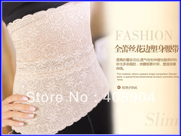 Japan style Invisible Tummy Trimmer, Body Shaper, Waist Slimming belt Cinchers 50pcs(China (Mainland))
