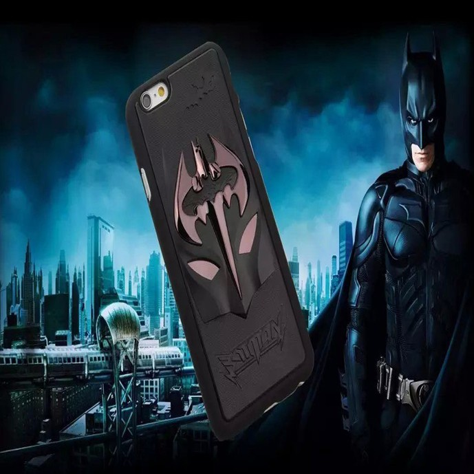 "3D Batman Metallic Face Cool Hard Case for Apple iPhone 6 5.5"" FreeShipping(China (Mainland))"