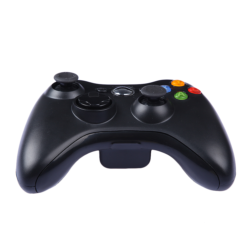 Wireless Gamepad Remote Controller For XBOX 360 Console Wireless Black Joystick For Official Microsoft XBOX Game Controller(China (Mainland))