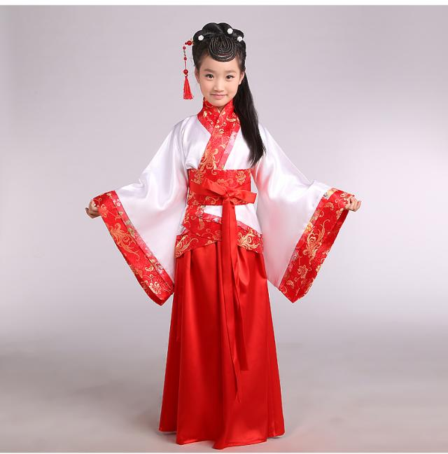 aeProduct. - 2019 China Hanfu Dress Christmas Dance Costumes For Kids Traditional