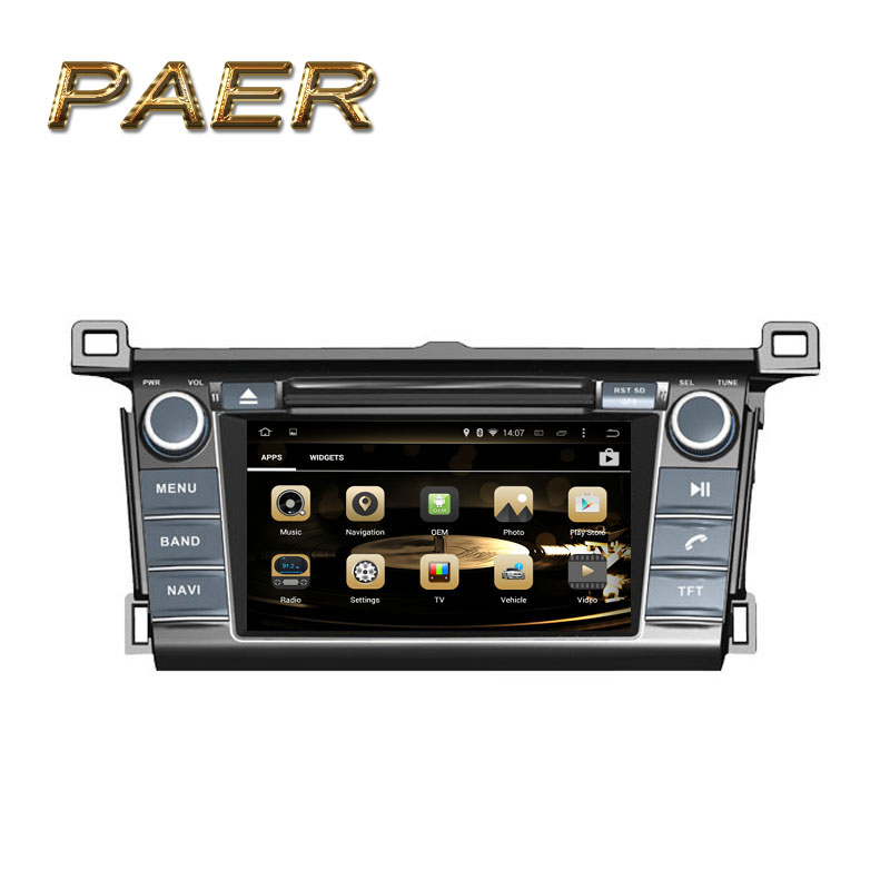 Gold Version Android 4.4 Fit TOYOTA RAV4 2013 2014 2015 2016 Car DVD Player GPS Radio<br><br>Aliexpress