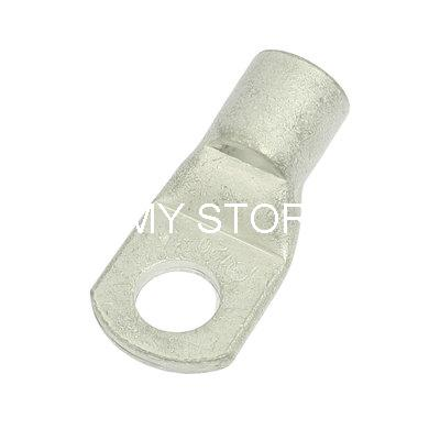 """1.1"""" Tip Width 15mm Dia Bolt Hole Copper Cable Lug Silver Tone(China (Mainland))"""