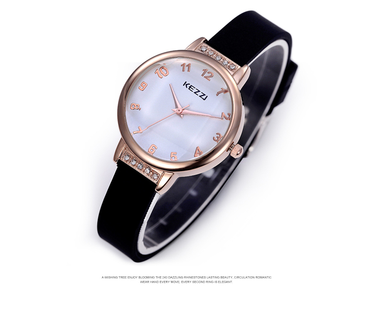 Free Shipping Kezzi pealike Women  Quartz Watches Analog Fashion Casual Dress wristwatches Waterproof k822 hot sale