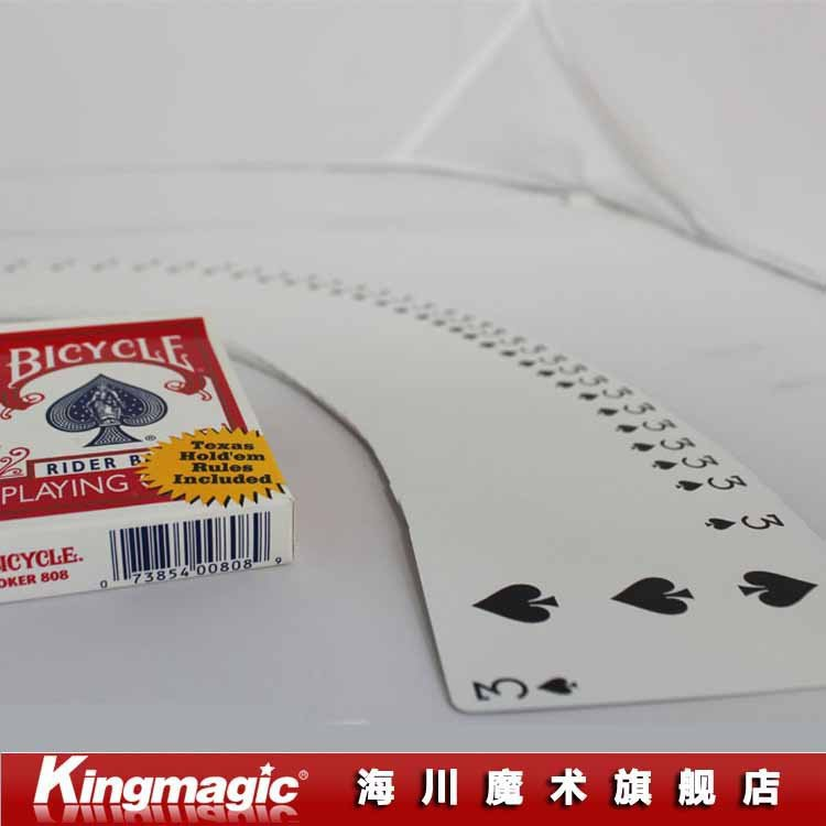 wholesale 5pcs each lot One Way Forcing Deck Bicycle Choose Your Force Card magic tricks as seen on tv(China (Mainland))