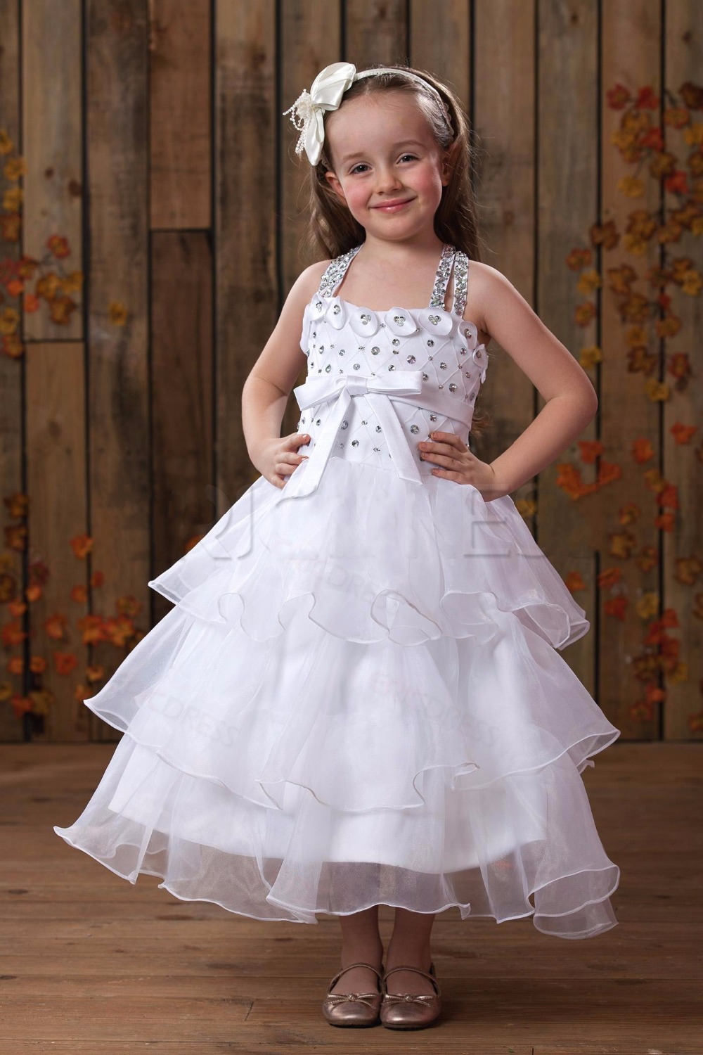 Buy flower girl dresses for weddings for Little flower girl wedding dresses