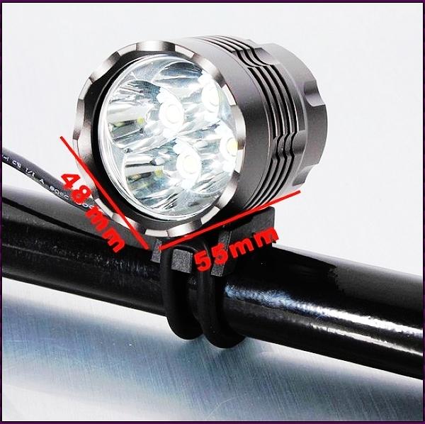 Most Powerful CREE XML T6 LED 5-Mode 5000 LumenS Headlamp Waterproof LED Bike Light with Battery Pack Set(Hong Kong)