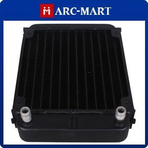 Black Aluminum Heat Exchanger Radiator For PC CPU Water Cooling System 5pcs/lot #ST010