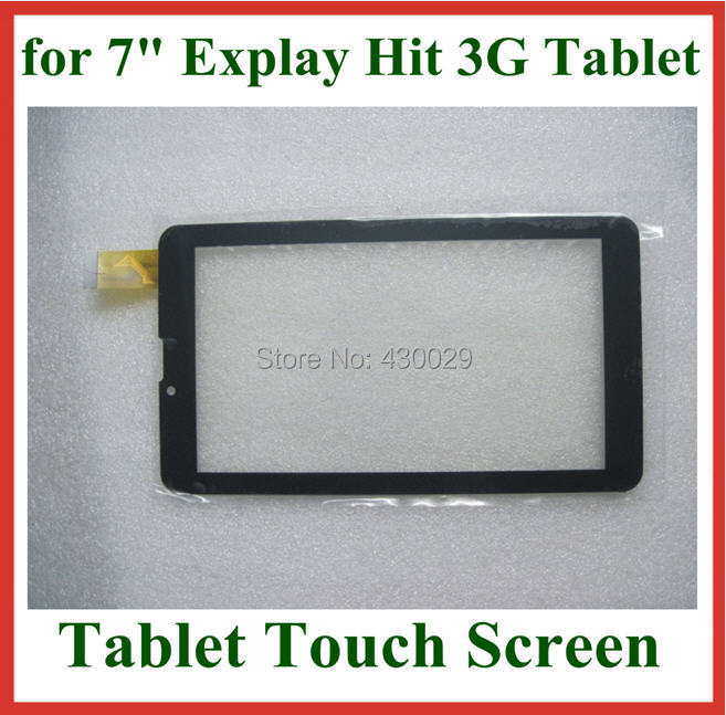 Replacement 7 inch Capacitive Touch Screen Digitizer Panel Glass Sensor for 7 inch Explay Hit 3G Tablet PC<br><br>Aliexpress
