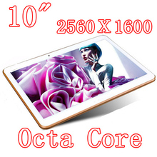 Tablets PCS 10.5 inch 8 core Octa Cores 2560X1600 DDR3Tablet PC 4GB ram 32GB 8.0MP Camera 3G sim card Wcdma+GSM Android4.4 7 8 9