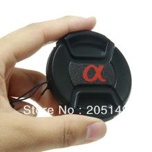 Free shipping+tracking 62mm 62mm Snap-On Lens Front Cap for Alpha DSLR Lens