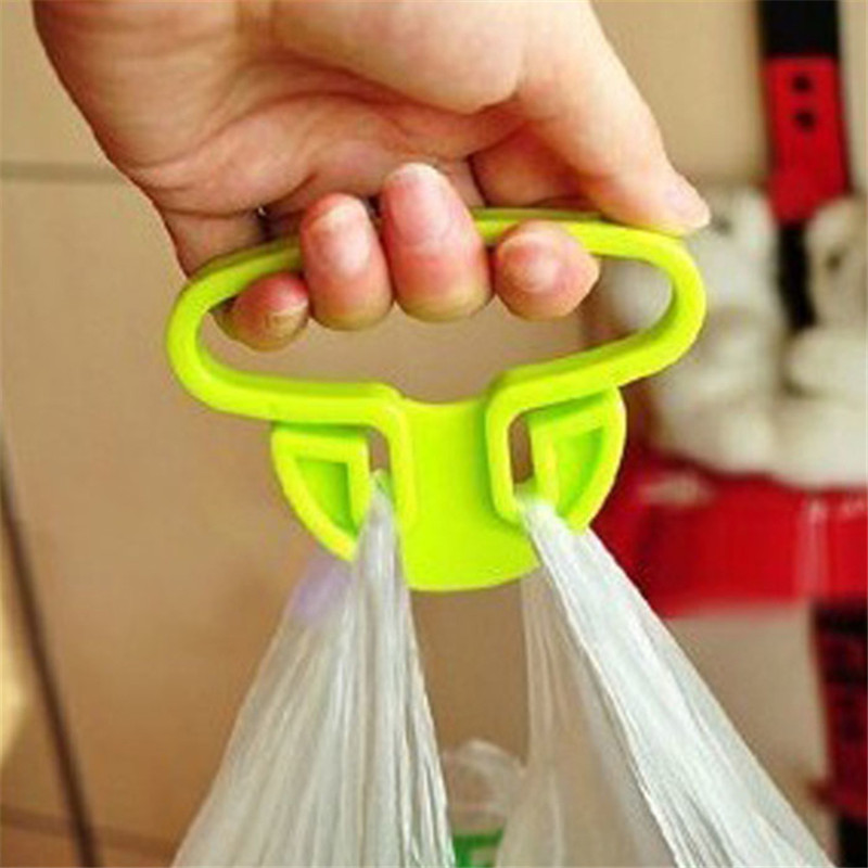 Brand new 2016 hot sale Helper plastic handbag hook hanger bag holder For Shopping Bags(China (Mainland))