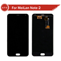 For Meizu M2 Note MeiLan Note 2 Lcd display Touch screen digitizer assembly Free Shipping