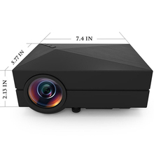 LED Projector 3D HD 1080P Home Theater Picture Video Projectors China LCD Universal For School TV Computer Mobile Phone Iphone 6(China (Mainland))